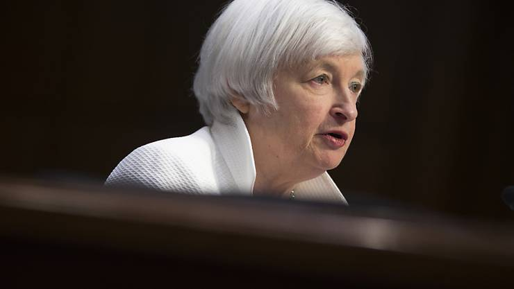 Keine Veränderung: Janet Yellen, Chefin der U-Notenbank Fed, belässt den Leitzins auf dem bisherigen Niveau. (Archiv)