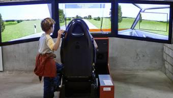Ein Fahrsimulator im Verkehrshaus Luzern (Symbolbild)