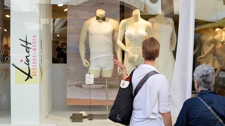 Unter dem Motto «Solothurn Heiratet» führten das Städtische Gewerbe und Solothurn Tourismus eine PR-Aktion durch