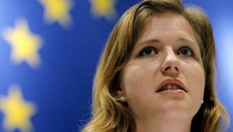 Nebs-Präsidentin Christa Markwalder in Bern