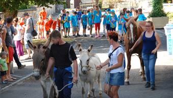 Auftakt zum Dorffest in Gansingen