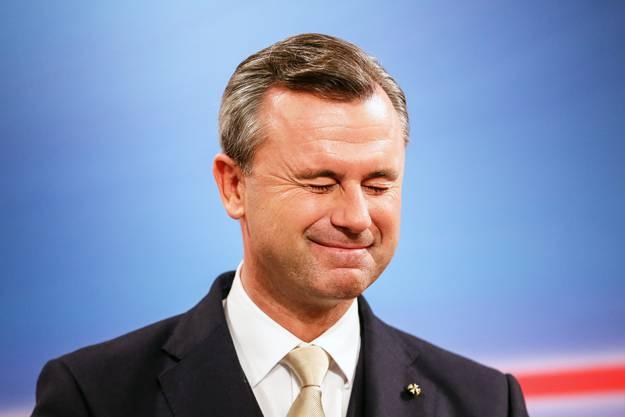 Norbert Hofer will es 2022 nochmal versuchen.