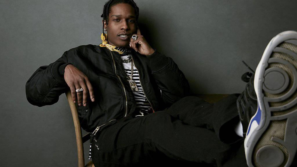 Glasscherben entscheidend im Verfahren gegen Rapper Asap Rocky