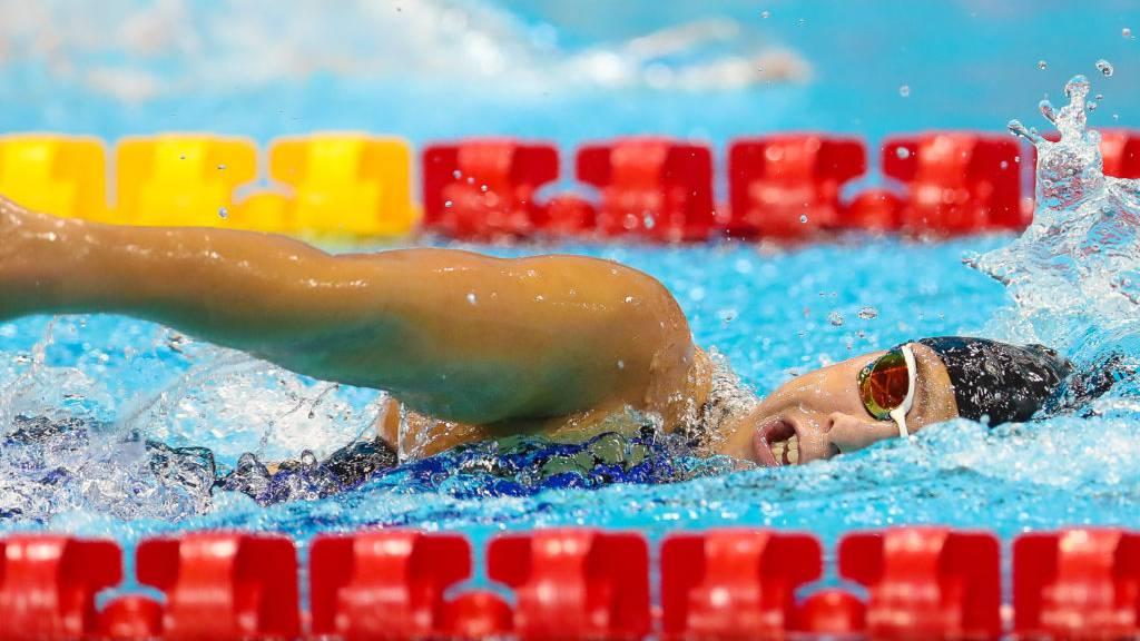 Aargauer Paraschwimmerin Nora Meister im Final