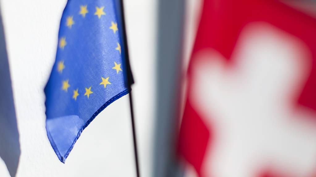 Die EU wirft der Schweiz mangelndes Interesse am Rahmenabkommen vor. (Symbolbild)