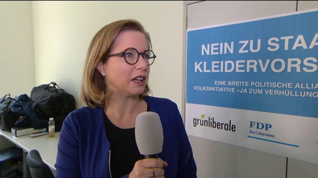 """Christa Markwalder: *Verhüllungsverbot-Initiative könnte auch noch am Ständemehr scheitern"""""""