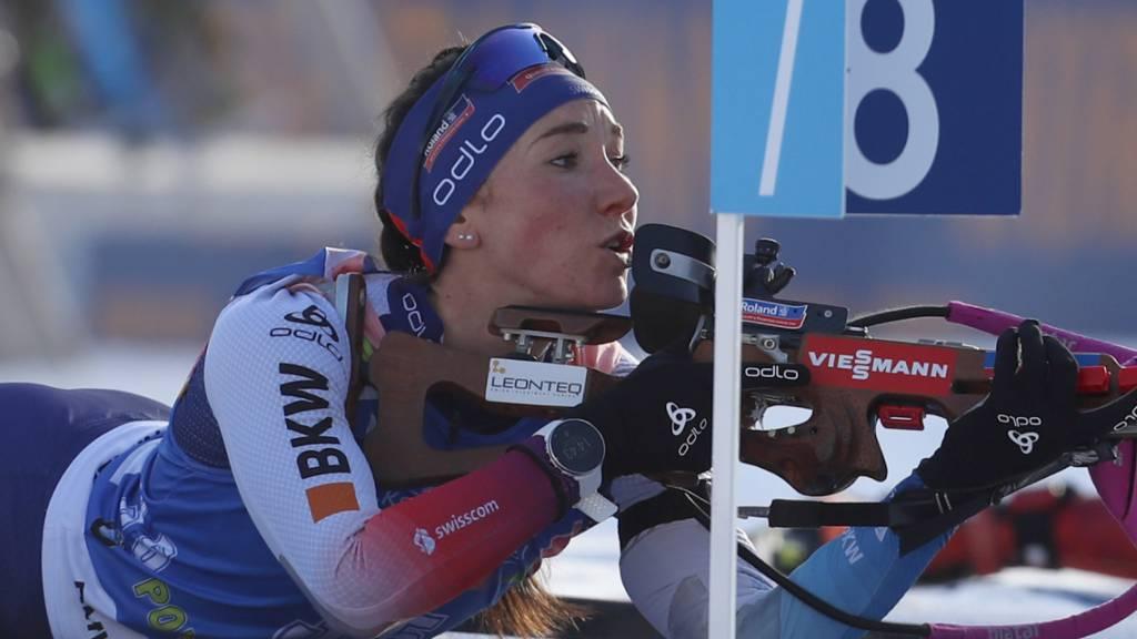 Einzig Aita Gasparin mit starker Schweizer Leistung