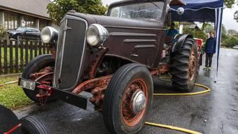 Treffen historischer Traktoren in Leuzigen