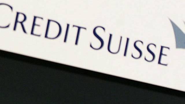 Gewinn im zweiten Quartal bei der Credit Suisse.