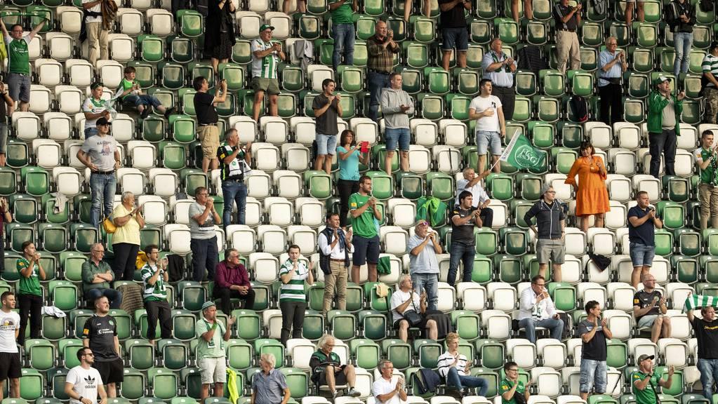 Die Fans wollen ein Zeichen für den FC St.Gallen setzen.