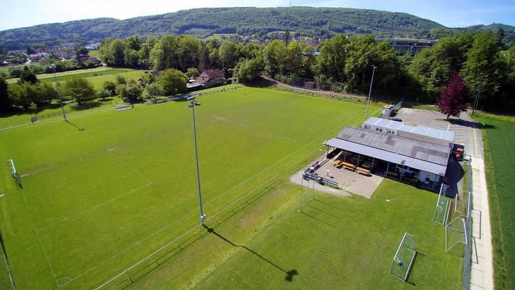 Das Clubhaus des FC Dulliken auf der Sportanlage Ey ist in einem schlechten Zustand. Darum hat die Gemeindeversammlung im Dezember 2018 einen Kredit über zwei Millionen Franken genehmigt.
