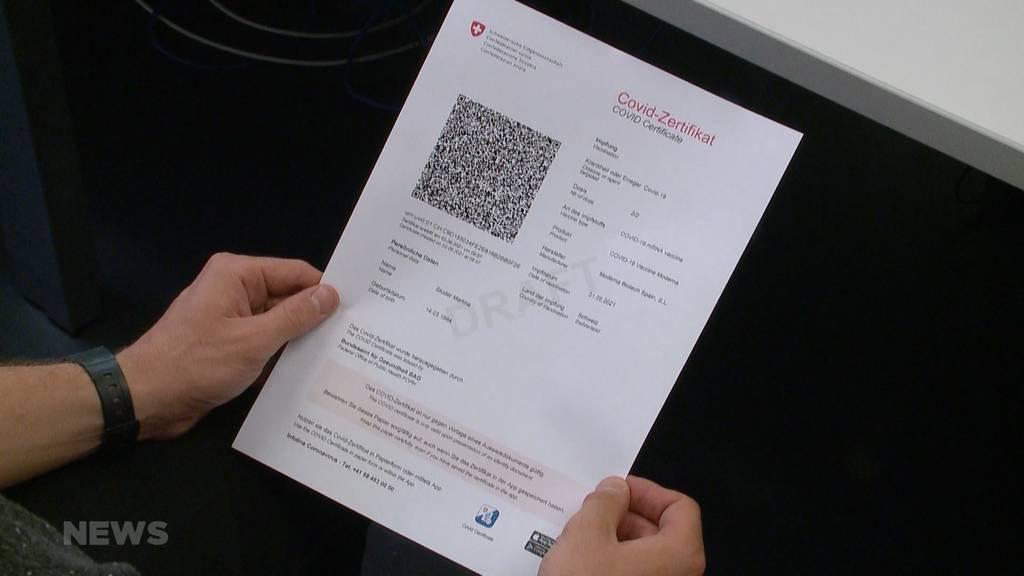 Covid-Zertifikat: Schon nächste Woche werden die ersten Exemplare ausgestellt