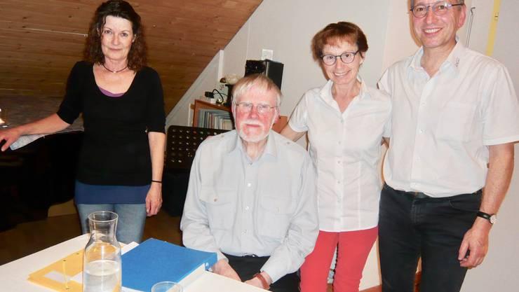 Susanne Jufer, Erhard von Büren, Astrid Salathé, Ernst Hirsbrunner