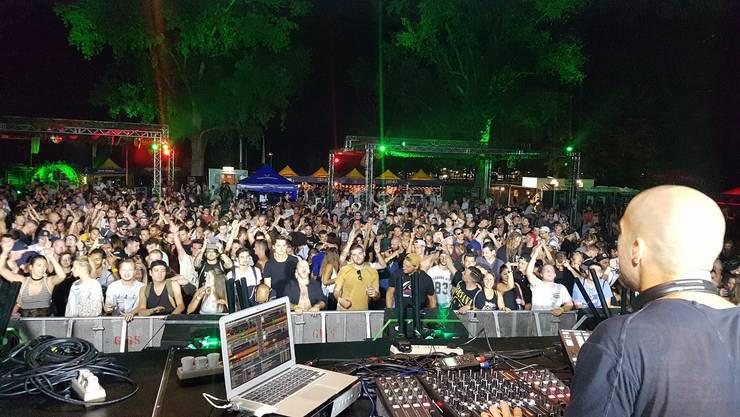 Die Besucher des Tension-Festivals hatten Freude an der Musik, die Anwohner weniger.