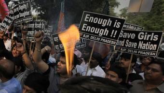 Genug ist genug: Protest gegen Vergewaltigungen in Indien (Archiv)
