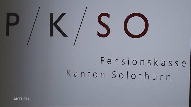 Solothurner Pensionskasse mit erfreulichen Zahlen
