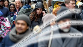 Die Bevölkerung wird in den nächsten Jahren wachsen – wie stark, das ist schwer abschätzbar.