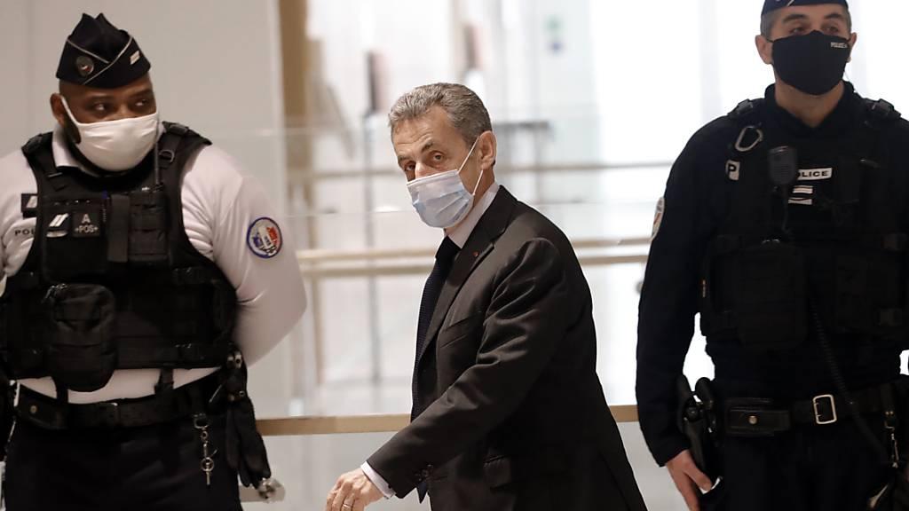 Ex-Präsident Sarkozy muss ins Gefängnis