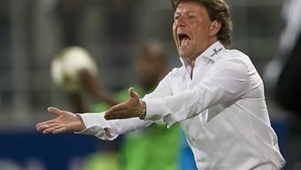 Trainer Jeff Saibene erklimmt mit St. Gallen die Tabellenspitze.