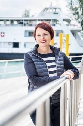 Andrea Ruf Geschäftsführerin Schweizerische Bodensee-Schifffahrt.