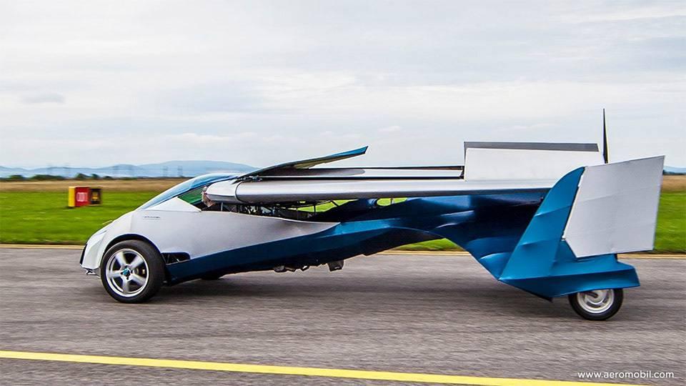 Traum vom fliegenden Auto wird vielleicht bald schon Realität