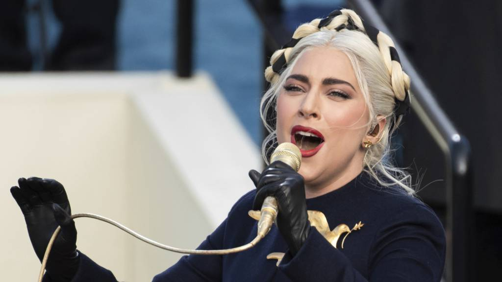 ARCHIV - Verschiebt Konzertreise erneut: Lady Gaga Foto: Saul Loeb/AFP/AP/dpa