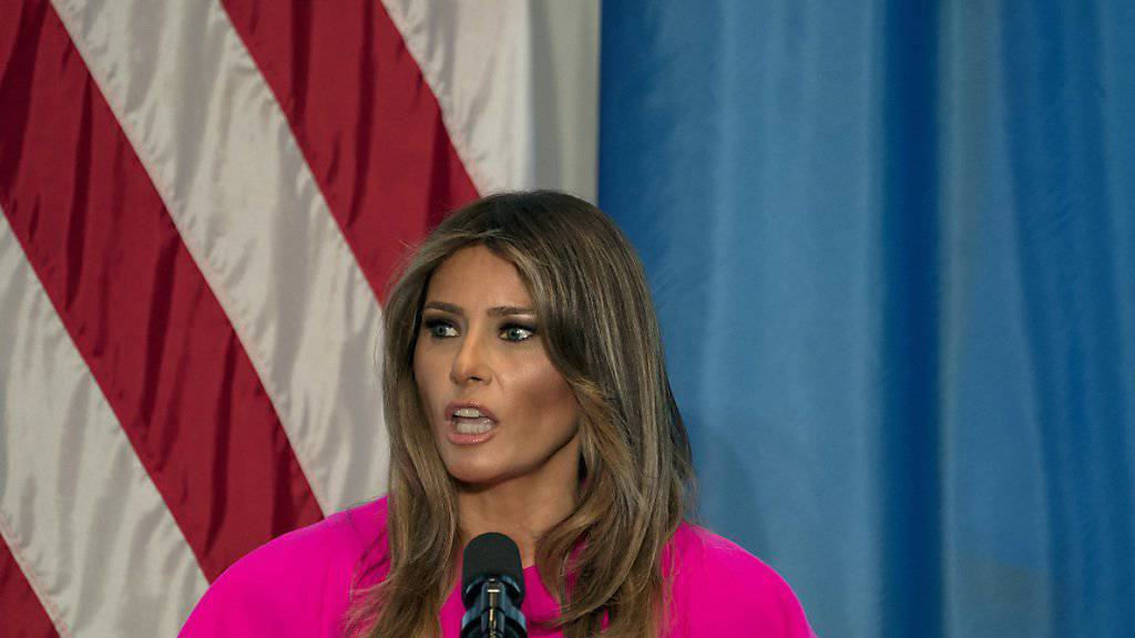 Die aktuelle First-Lady der USA, Melania Trump, findet die Trennung von Flüchtlingsfamilien bei der illegalen Einreise in die USA nicht in Ordnung. (Archivbild)