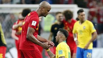 Impressionen zum Viertelfinal Brasilien - Belgien
