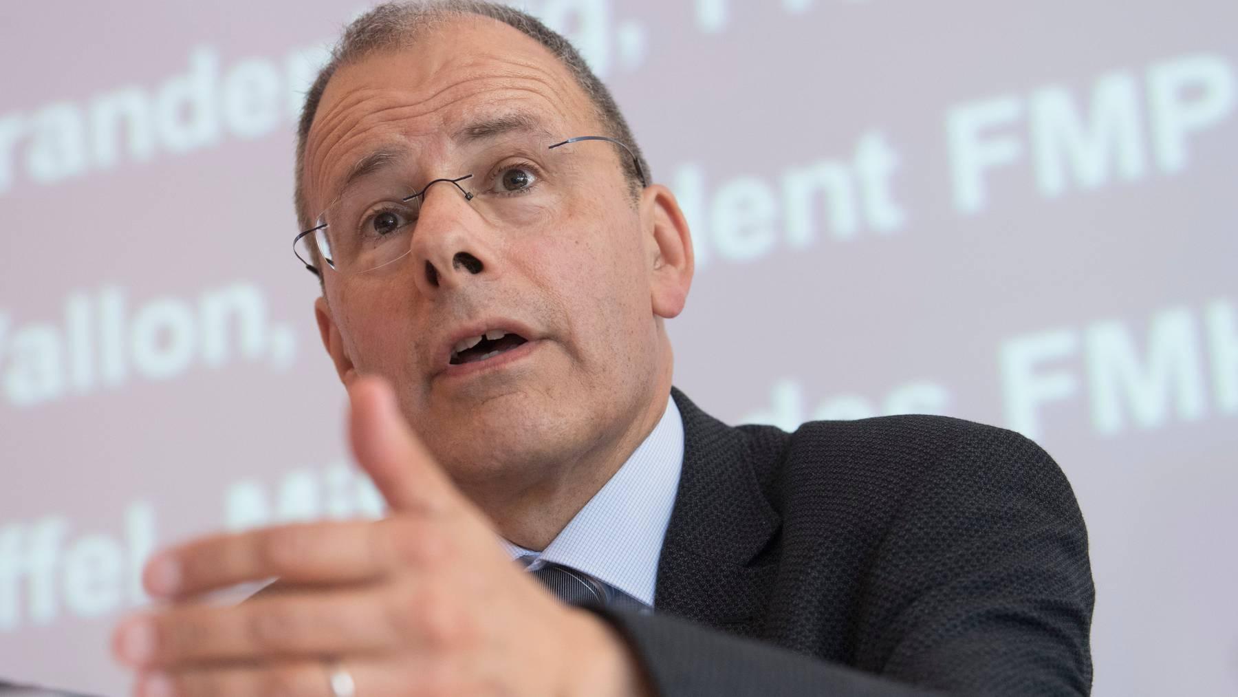 Der Berner Mediziner Jürg Schlup ist seit 2012 Präsident des Verbands der Schweizer Ärztinnen und Ärzte (FMH).