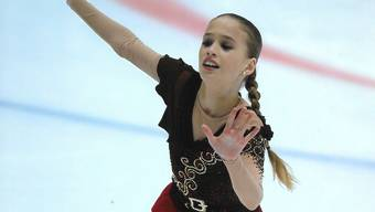 Eiskunstläuferin Kimmy Repond bei ihrer Kür