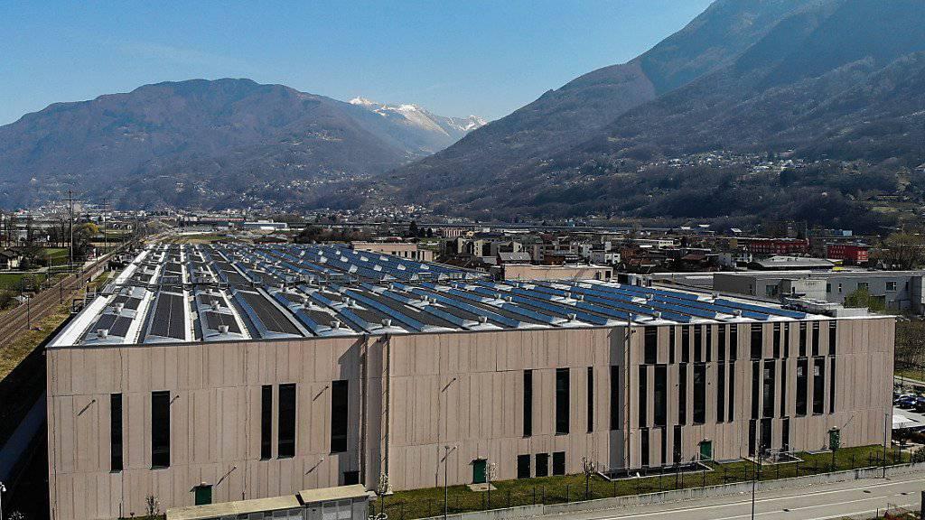 Soll steuerlich genauer unter die Lupe genommen werden: Die Niederlassung der zum Luxusgüterkonzern Kering gehörenden Firma LGI in St. Antonino bei Bellinzona.