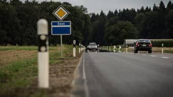 Uneben: Neu sanierter Belag zwischen Seon und Schafisheim.