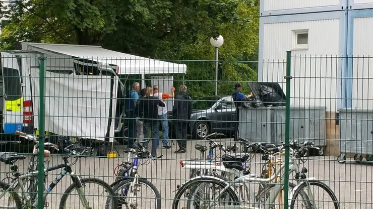 Bilder vom Tatort.