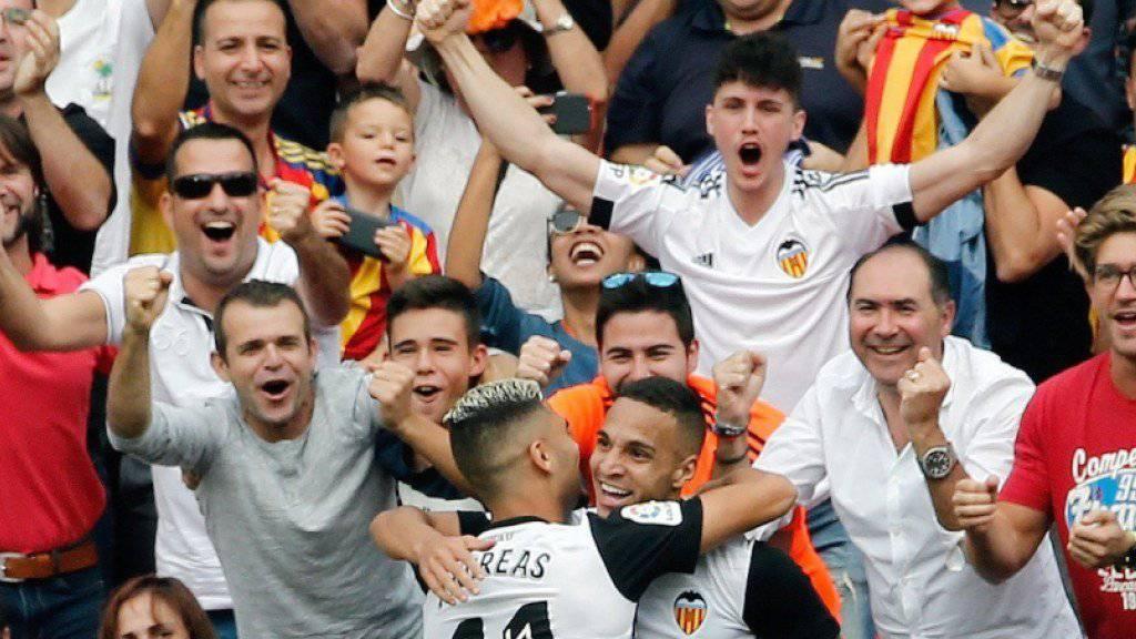Siebter Sieg in Serie: Die Euphorie in Valencia ist gross