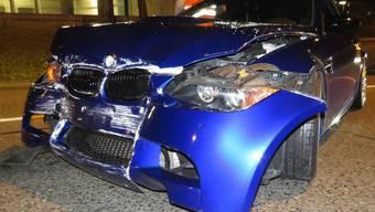 Wohlen Unfall; Polizeibilder