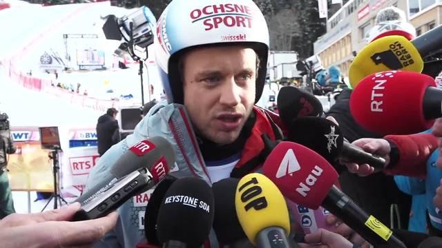 Alpine Kombination: Mauro Caviezel verpasst das Podium knapp