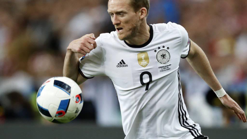 Neu für Dortmund am Ball: der deutsche Internationale André Schürrle
