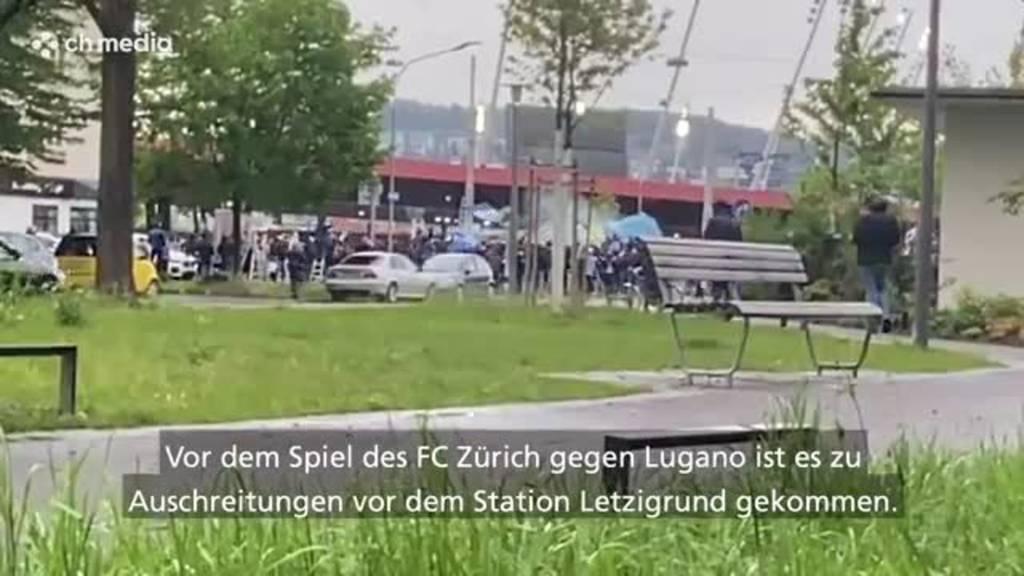 Scharmützel zwischen FCZ-Fans und Polizei – Grossversammlung vor Letzigrund