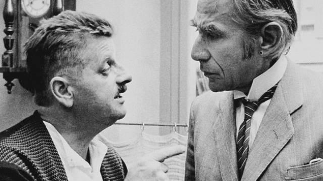 "Lukas Ammann (r) 1970 im Film ""Dällebach Kari"" mit Walo Lüönd (SRF)"