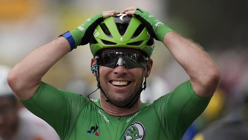 Mark Cavendish hat gut lachen. Der Brite hat sich mit seinem 34. Etappensieg an der Tour de France zur Legende gemacht.