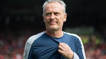 Christian Streich und der SC Freiburg trennten sich von Bayer Leverkusen torlos