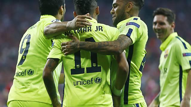 Sorgte in München früh für klare Verhältnisse: Neymar