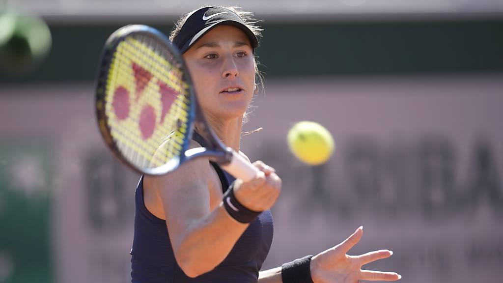 Belinda Bencic steigert sich in den Achtelfinal