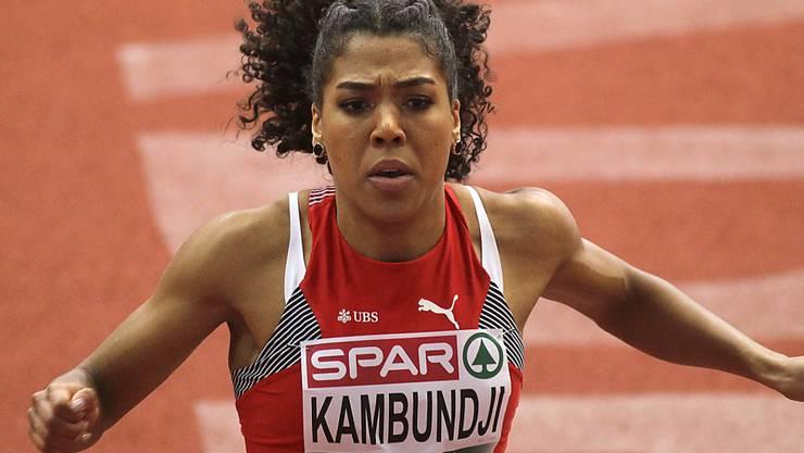 Mujinga Kambundji steht erneut im EM-Final