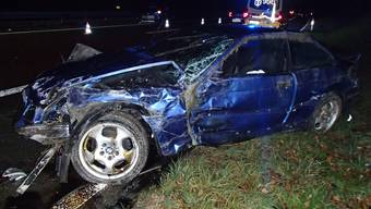 Suhr: Auto überschlagen am 25. November