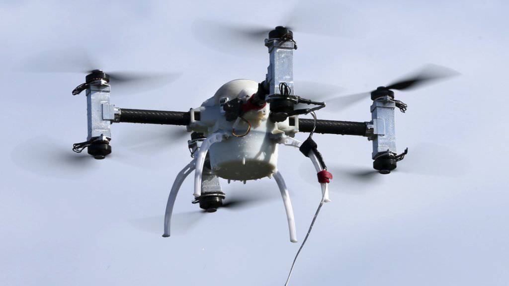 Der Himmel über den Champs-Élysées gehörte für einmal ganz den Drohnen. (Symbolbild)