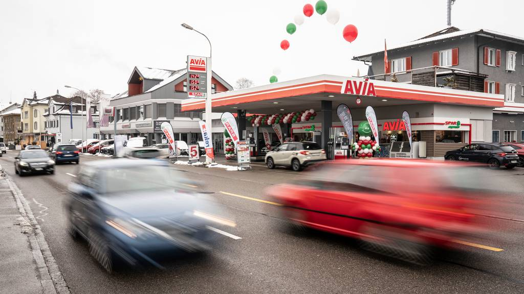 Spar express in Gossau: Die Spar Gruppe arbeitet bereits heute mit der Avia zusammen.