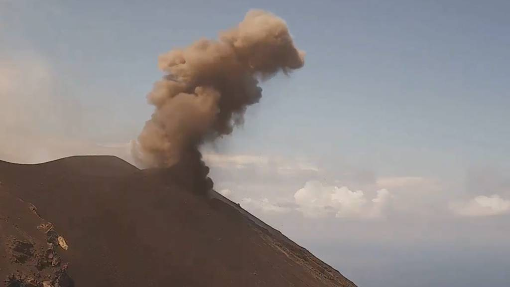 Italien: Explosionen im Vulkan Stromboli