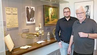 Johannes Brenke (rechts) und Thomas Ays.