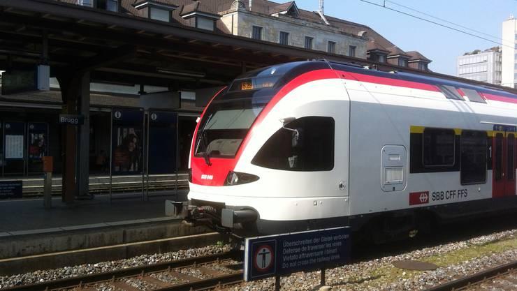 Bahnhof Brugg.